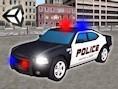 3D Polizeiauto Parken
