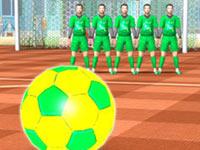 3D Straßenfußball