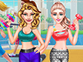 Ailsa and Eva Workout Buddies
