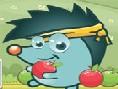 Apfel-Fangen