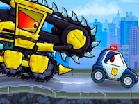 Auto auf der Flucht: Evil Cars