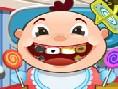 Baby beim Zahnarzt