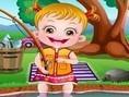 Baby Hazel Gaat Vissen