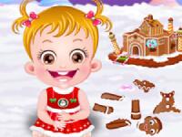 Baby Hazel: Lebkuchenhaus