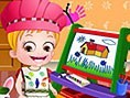 Baby Hazel lernt Farben