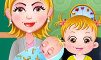 Baby Hazel: Neugeborenes Baby