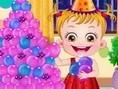 Baby Hazel Nieuwjaarsfeestje