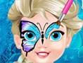 BabyElsa Schmetterling Gesicht Kunst