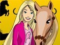 Barbie and Pony Coloring