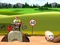 Böser Motorradfahrer