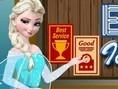 Elsa Ice Cream Shop