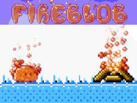 Feuer-Blob