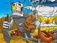 Fliehender Roboter