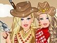 Hübsches Cowgirl