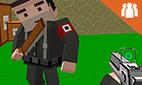 Kampfgefecht: Pixel-Mehrspieler