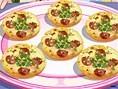 Knusprige Mini-Pizzas