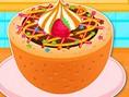 Kochen Köstliche Fudge Pfützen Kuchen