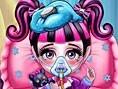 Krankes Monster-Baby