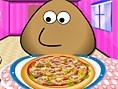 Pou, der Pizzabäcker