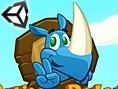 Rennendes Rhino