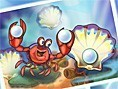 Schlaue Krabbe